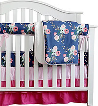 Floral baby blankets