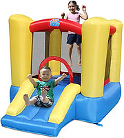 physical activity, Indoor inflatable slide
