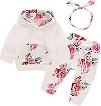 Infant Baby Girl floral cloth set