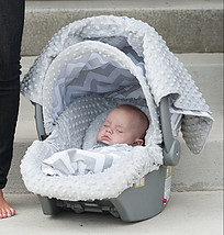 Custom Baby Car Seat Covers!