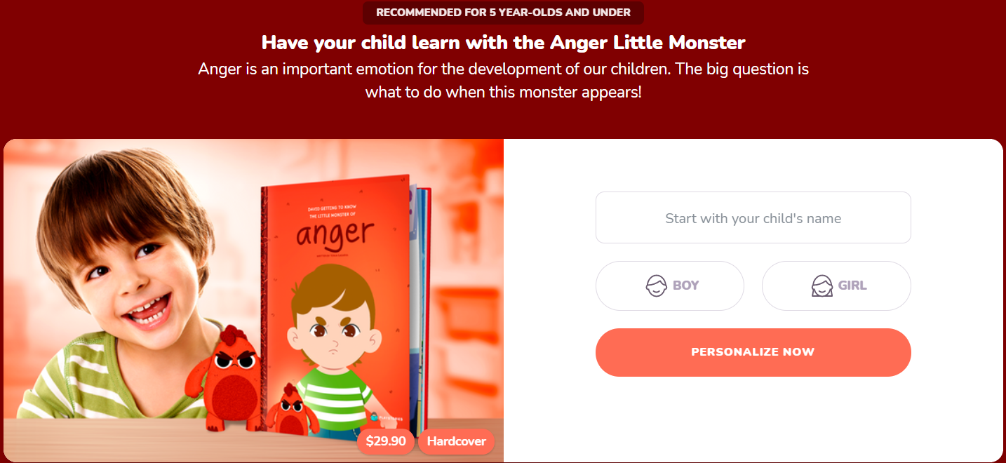 Anger management high quality books for children
